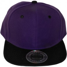 Casquette Snapback City Hunter - Violet / Noir