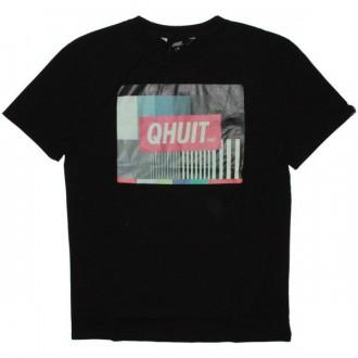 Qhuit T-Shirt - Fin de programme - Black