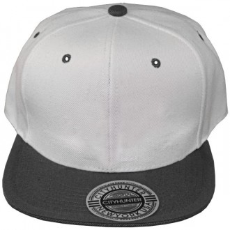 Casquette Snapback City Hunter - Blanc / Gris