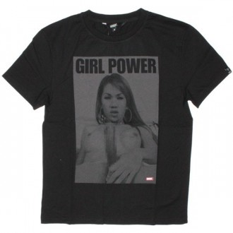 Qhuit T-Shirt - Girl Power - Black