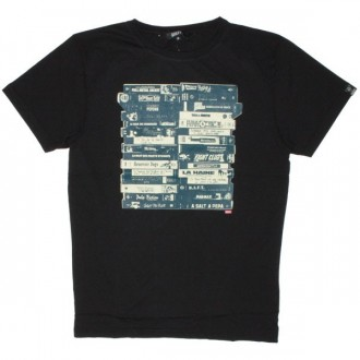 Qhuit T-Shirt - Mes VHS - Black