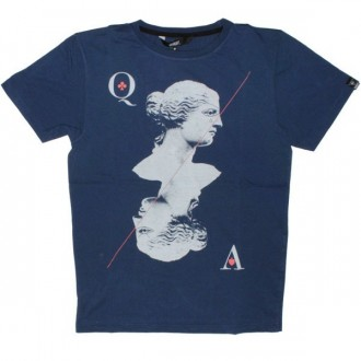 Qhuit T-Shirt - Venus - Blue