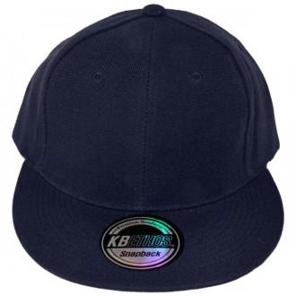 Casquette Snapback KB Ethos - Unie bleu marine
