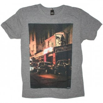 OBEY Limited Series T-Shirt - Heather Grey Bombs Away 01