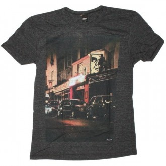 OBEY Limited Series T-Shirt - Heather Onyx Bombs Away 01