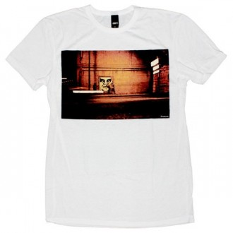 OBEY Limited Series T-Shirt - Natural White Bombs Away 02