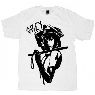 OBEY Basic T-Shirt - White Crime & Punishment