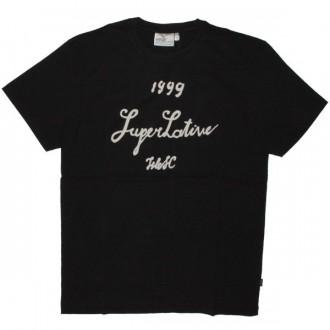 WESC T-shirt - Black Superlafite Wine