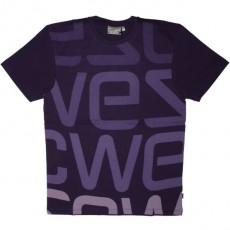 WESC T-shirt - Parachute Purple Logo Biggest