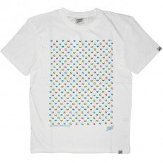 Scratch Science T-shirt - Diamond RVB - White