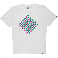 Scratch Science T-shirt - Basic Multi-Logo - White