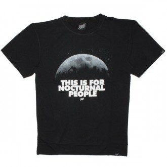 Scratch Science T-shirt - Nocturnal people - Black