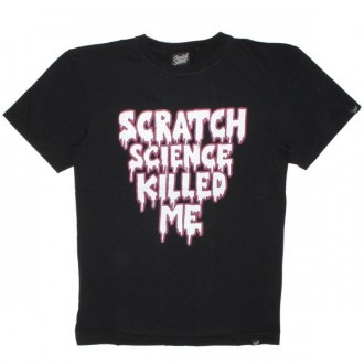 Scratch Science T-shirt - Killed Me - Black