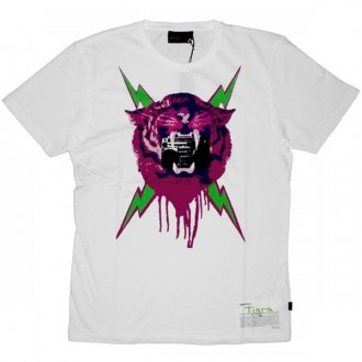 WESC T-Shirt - Lady Tigra - White